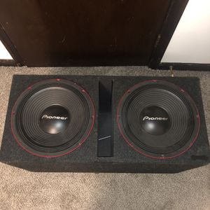 "Pioneer 2 12"" With Box for Sale in Richmond, VA"