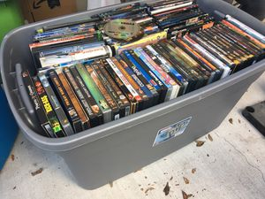 250 DVDs only $150 for Sale in Irving, TX