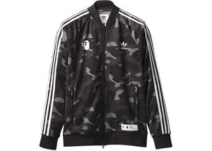 Bape x adidas adicolor track top cinder size S for Sale in San Diego, CA