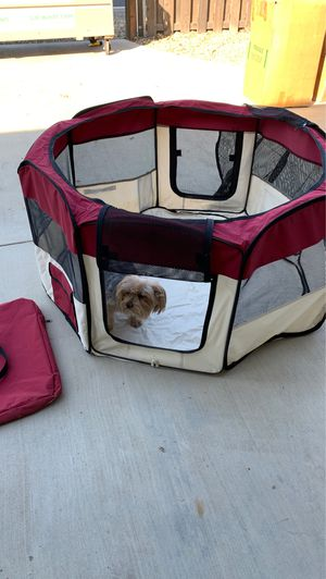 Traveling indoor canvas dog kennel for Sale in Acampo, CA