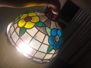 Antique tiffany piece for lamp made of glass for Sale in Coral Gables, FL