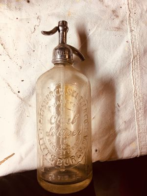 Antique Seltzer Bottle for Sale in Pittsburgh, PA