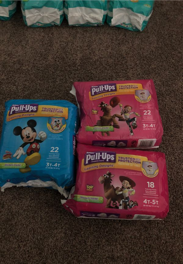 Diapers / Pull Ups