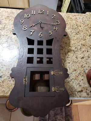 Antique vintage clock for Sale in Delray Beach, FL