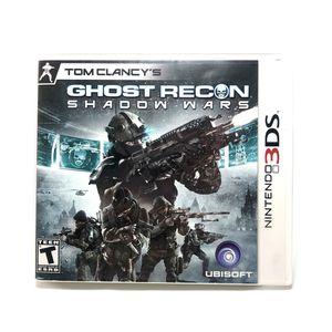 Tom Clancy's Ghost Recon: Shadow Wars (Nintendo 3DS, 2011) for Sale in Mill Creek, WA