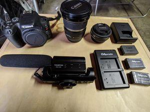 Canon SL2 Bundle for Sale in San Lorenzo, CA