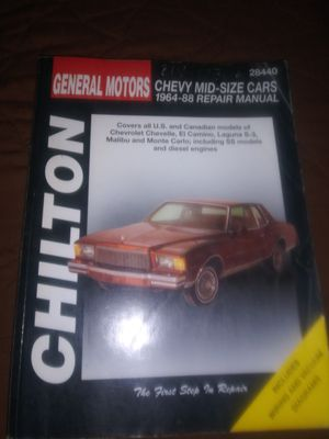 Cheverolet mid size car repair manuals for Sale in Independence, MO