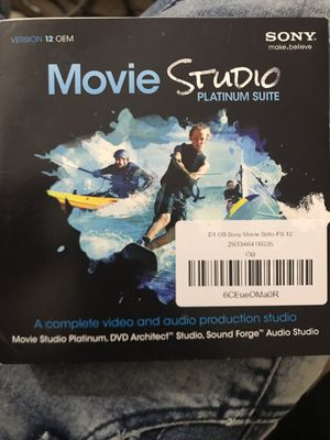 Movie studio video editing software for Sale in Richmond, VA