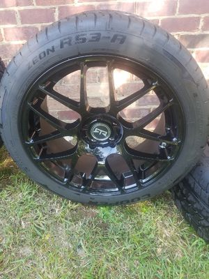 Cooper tires RTR rims for Sale in Ogden, IL