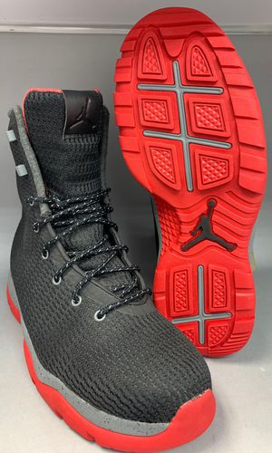 Nike Air Jordan Future Boots Shoes Black Red Bred Size 10 Condition is New with box. for Sale in Queens, NY
