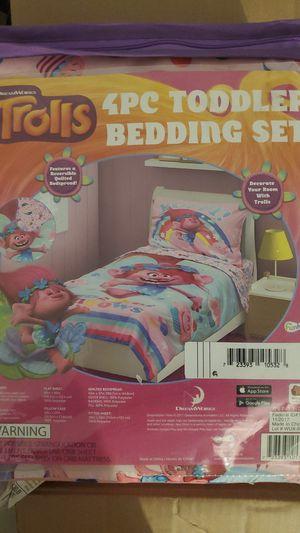Trolls toddler bedding set for Sale in Ontario, CA