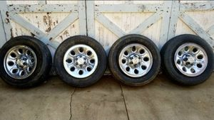 """2008 Chevy Silverado 1500 OEM Stock Rims (Steel) 17X7.5"""" for Sale in Pico Rivera, CA"""