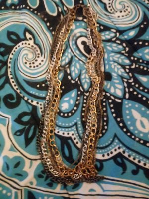 Gold black an silver chain for Sale in Cleveland, OH