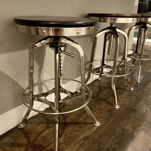 4 Vintage Restoration Hardware Bar Stools for Sale in Aurora, CO