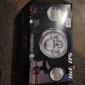 Sunpie LED Headlight And Fog Lights For Harley-Davidson for Sale in Indianapolis, IN