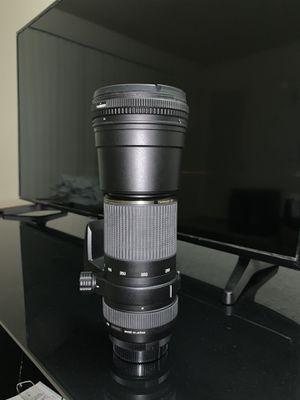 Tamron lens for Nikon (Tamron Sp AF DI LD (IF) 200-500 1:5-6.3) for Sale in Fremont, CA