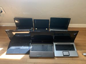 Dell Lenovo HP Asus Computer lot for sale for parts or repair AS IS for Sale in Miami, FL