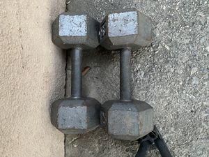25lb weights for Sale in Bellflower, CA