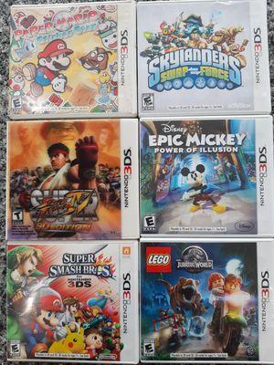 Nintendo 3DS games all for $50 for Sale in La Grange, IL