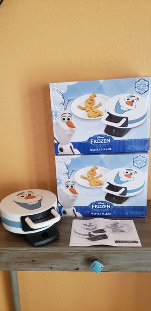 Brand New Disney Frozen Waffle Maker for Sale in Pembroke Pines, FL