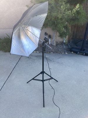 Two Studio photography lights for Sale in La Mesa, CA