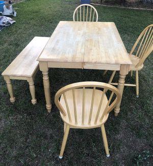 Farmhouse Table & Bench for Sale in Centennial, CO