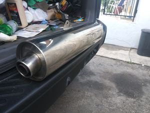 Suzuki Exhaust - for 600/750cc motorcycles for Sale in Miami, FL