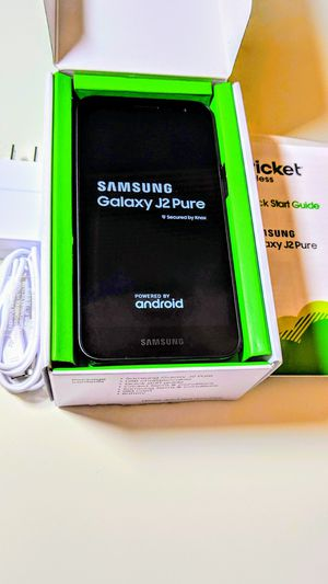 WOW Brand new Samsung Galaxy for Cricket 2019 for Sale in Irving, TX
