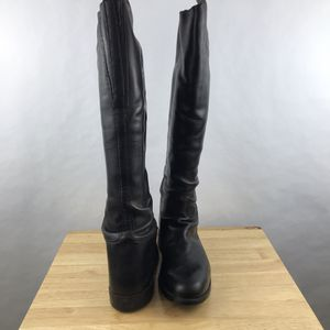 Mens Black English Riding Boots Danner Size 10 Equestrian Horse Handmade Pull On for Sale in Huntington Beach, CA