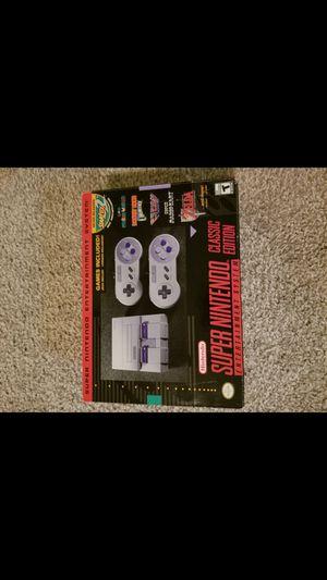 SNES Super Nintendo classic for Sale in Marietta, GA