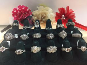 925 sterling sliver rings, 6-10, estate jewelry, $29-89...And much more...You can get these at the Prattville Pickers, 616 Hwy 82... for Sale in Prattville, AL