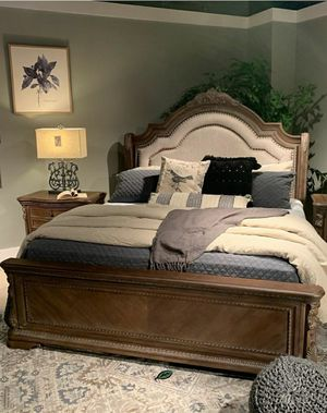 🍾🍾 Best Offer ‼ SPECIAL] Charmond Brown Sleigh Bedroom Set | B803 95 for Sale in Jessup, MD
