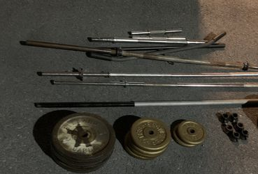 300lbs of Weight with bars for Sale in Rockville,  MD