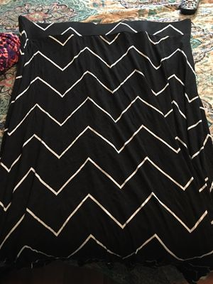 a.n.a. chevron maxi skirt for Sale in Hoosick Falls, NY