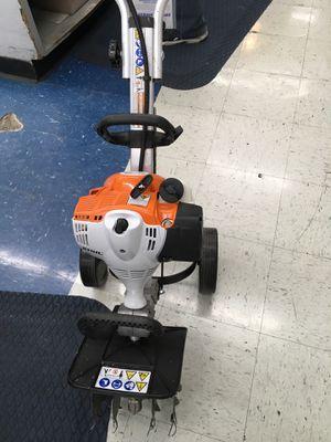 Stihl gas powered tiller for Sale in Kansas City, MO