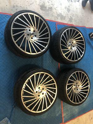 """Forgiato Ventoso ECL 22"""" for 5x120 cars for Sale in Orlando, FL"""