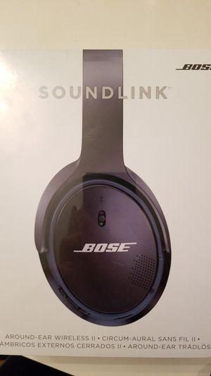 bose soundlink around-ear wireless headphones ii for Sale in Salt Lake City, UT