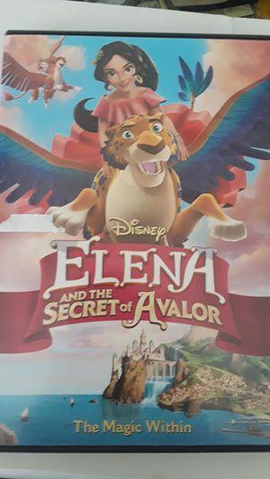 Disney's Elena and the Secret of Avalor DVD for Sale in Huntington Beach, CA