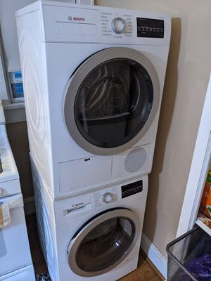 BOSCH washer & dryer 500 series for Sale in New York, NY