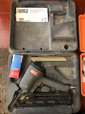 Senco Finish Nail Gun Model SFN40 for Sale in San Francisco, CA