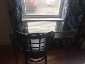 Ikea desk+ chair for Sale in Cambridge, MA