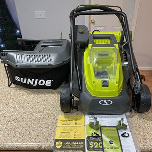 Sun Joe ION16LMCT iON16LM-CT 40-Volt 4.0-Amp 16-Inch Brushless Cordless Lawn Mower, Tool Only for Sale in Las Vegas, NV