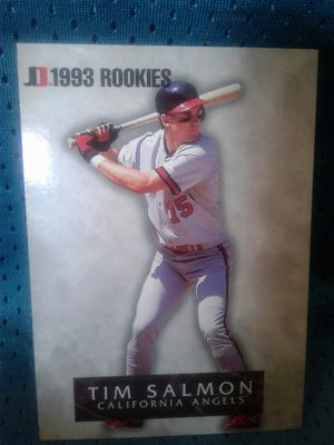 Lot of 5 Tim salmon Baseball Card's for Sale in Tollhouse, CA