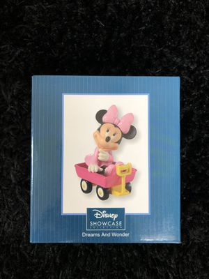 Precious Moments, Disney Showcase Minnie In Wagon for Sale in Maricopa, AZ
