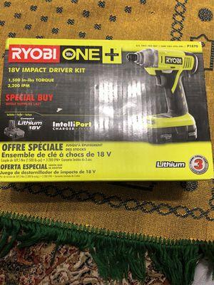 18V Impact Driver Kit Ryobi for Sale in Manassas, VA