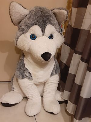 Giant wolf stuffed animal for Sale in Norwalk, CA