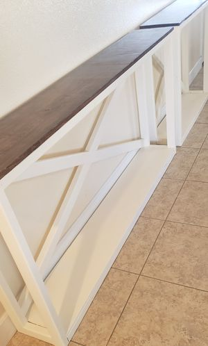 """BEAUTIFUL NEW CUSTOM BUILT ENTRYWAY HALLWAY TABLE/CONSOLE 72"""" W 11"""" D 36"""" HIGH for Sale in Henderson, NV"""
