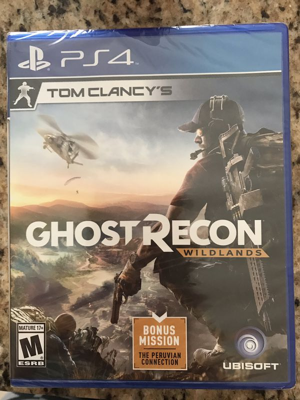 PS4 - Ghost recon (unopened)