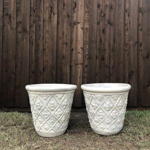 Flower Clay Pots for Sale in Carrollton, TX