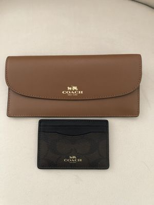 Coach Wallet & Card Holder for Sale in Spring Hill, TN